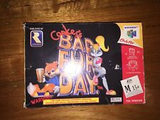 Conkers Bad Fur Day N64 Boxed Complete