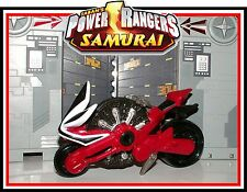 2011 Power Rangers Samurai - Red Samurai Disc Cycle _ *Must See*