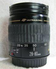Canon  EF 28-80 mm Ultrasonic  Zoom  Lens  Canon  EF Mount,