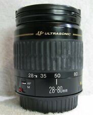 Canon  EF 28-80 mm Ultrasonic  Zoom  Lens  (Mark 2) Canon  EF Mount,