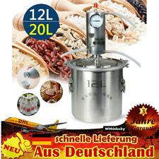 12L/20L Destillieranlage Destille Wein Edelstahl Alkohol Wein Schnapsbrennen NEU