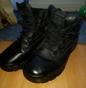 5.11 ATAC Low Boots UK6 Black Military/Airsoft/Paintball