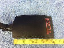 "Tumi Luggage Briefcase Leather Tag 4"""