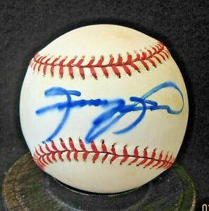 Sammy Sosa Signed ONL Baseball COA Chicago Cubs, White Sox, Rangers, Orioles