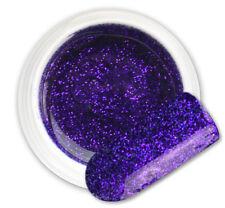 Omega Violet 104 GEL UV E LED GLITTER COLORATO RICOSTRUZIONE UNGHIE NAIL ART