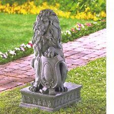 Lion Statue Entryway Guardian Lion Garden Entrance Yard Decor - New