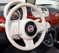 Kit Rinnova Colore Volante Avorio Pelle Fiat 500 Ritocco Interni Cabrio vernice