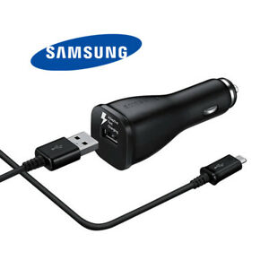 Original Samsung LN915U Fast Charge Car Charger For All Micro USB Mobile Devices