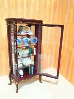 Dollhouse Miniature Hand-painted  Display Cabinet  / Curio  #901 (ONLY)