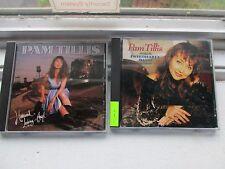 2 CDS Pam Tillis Homeward Looking Angel/ Sweetheart's Dance w/ Mel Tillis