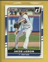 Jacob deGrom 2016 Panini Donruss Card # 99 New York Mets Baseball MLB