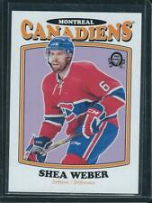 2016-17 UD O-PEE-CHEE SHEA WEBER RETRO BLANK BACK SSP MONTREAL CANADIENS
