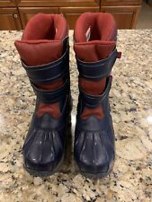 LL Bean Unisex Youth Snow Boats - Size 3