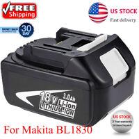 For Makita 18V 3.0Ah BL1815 BL1830 Lithium-Ion Compact Cordless US FREE SHIPPING