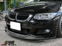 E92 AK Style Carbon Fiber Front Bumper Spoiler Lip For 2011+ 328i 335i M Sports