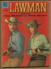 Four-Color #970 - Lawman John Russell & Peter Brown - 1958 (Grade 7.0)