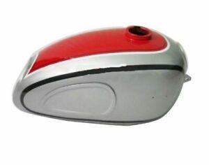 New Horex Regina Red & Silver Painted Gas Petrol Tank Reproduction ECs