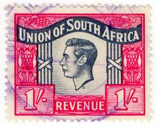 (I.B) South Africa Revenue : Duty Stamp 1/-