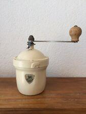 MOULIN A CAFE ANCIEN PEUGEOT FRERES MODELE G 1950   rond vintage