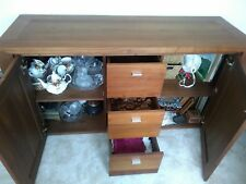 Solid walnut sideboard good condition, very heavy will need 2 men to collect