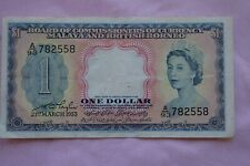 More details for board of commissioners & currency malaya british borneo $1  a93 782558 21/3/1953
