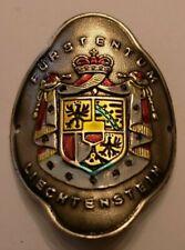 Furstentum, Liechtenstein Stocknagel, Hiking Medallion, Badge, Pin,Used, GP12-34