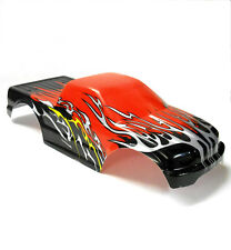08035 10110-1 RC 1/10 Scale Monster Truck Body Shell Cover HSP Red Cut