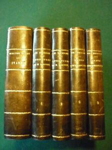 livres anciens: Lot de 5 livres: Charles Dickens - Walter Scott.