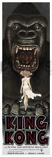 KING KONG (1933) ORIGINAL ART PRINT Poster FAY WRAY Naomi Watts GORILLA Signed!