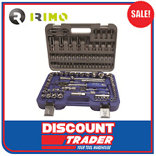 "Irimo by Bahco 108 Piece 1/4"" & 1/2"" Square Drive Socket Set - 129-108-4"