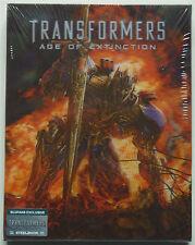 TRANSFORMERS 4 BLUFANS EDITION A 2-DISC BLU-RAY STEELBOOK NEU & OVP LENTICULAR