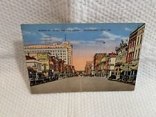 VIntage Postcard-Market Street, Along the Dixie Highway, Chattanoga, TN