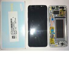Display LCD + Touch + Frame ORIGINALE SAMSUNG Galaxy S8 G950F SILVER SM-G950F