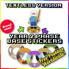 Año 2 Lego Pegatinas de base Dimensiones-sin diálogo - * ondas 6 y 7 * - 18 diseños más