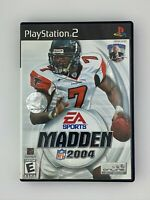 Madden NFL 2004 - Playstation 2 PS2 Game - Complete & Tested