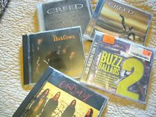 MIXED ROCK 5 CD COLLECTION~ AWESOME CD COLLECTION~CREED, BLACK CROWS, CANDLE BOX