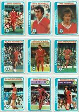 Liverpool signed Topps Football set 1978 1979 Blue backs Pick your card