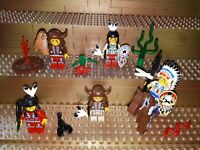 Lego Western Figuren Minifig Wild West Indianer Zubehör Pferd Fort Tiere P25