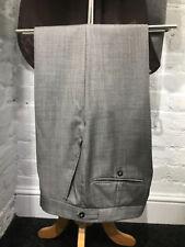 Grey Fleck Suit Trousers