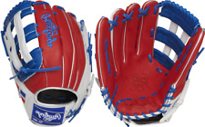 "Lefty Rawlings Pro3039-6Dr 12.75"" Heart Of The Hide Flag Coll. Baseball Glove Dr"