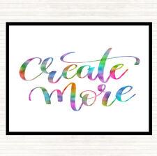 Crear más Arco Iris cita Ratón Mat Pad