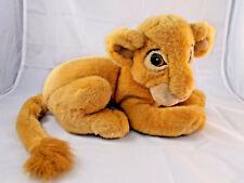 """Disney Store Lion King Simba Plush 12"""" Nose to Behind"""