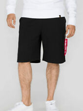"ALPHA INDUSTRIES Hose ""X-Fit Cargo Short""   Black (166301) Sport Herren RBF"