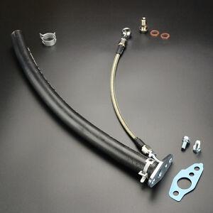 Turbo Oil Feed & Return Line Kit fit 2LT 2.4T CT20 17201-54060 HILUX HIACE