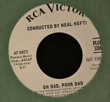 Neal Hefti RCA 9073 DJ Oh Dad, Poor Dad and Theme For a Boy