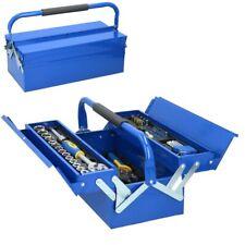 Cassetta Valigetta Porta Utensili da Lavoro Completa di Attrezzi 64 pezzi