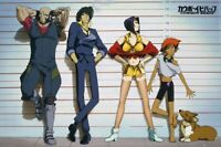 COWBOY BEBOP POSTER, Anime Characters, Size 24x36