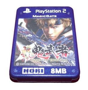 Onimusha Dawn of Dreams Hori Magic Gate PS2 Memory Card PlayStation 2 8MB