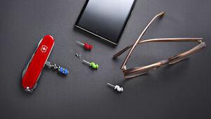 VICTORINOX Compact Mini 4 Tool Set  (Inserts Into The Cork Screw) - BRAND NEW
