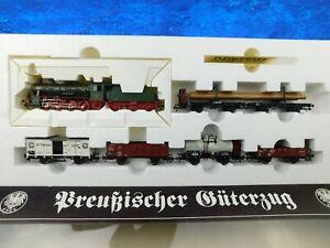 F12 Fleischmann H0 1891 Zug Set KPEV Preußischer Güterzug AC KKK OVP TOP